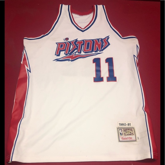 innovative design b537e 3a35c Detroit Pistons Mcadoo Mitchell & Ness Jersey 🔥